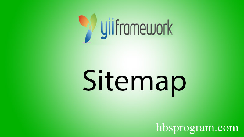 Sitemaps Trong Yii2